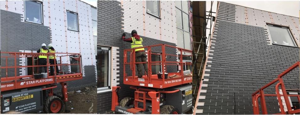 Brick Slip Installers Fitters Of Brick Slip Tiles