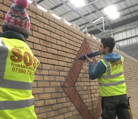 Slips On Site Brick Slips Installers Fitters Of Brick